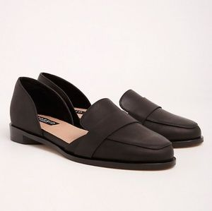 TORRID COLLECTION GENUINE LEATHER LOAFERS WIDE